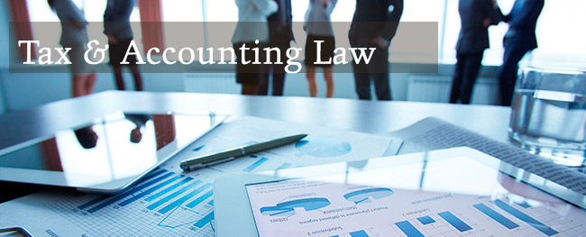 tax law and accounting The sec issued guidance on the accounting and disclosure of the tax cuts and  jobs act: staff accounting bulletin 118 and compliance.